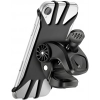 Cocoda Handyhalterung Fahrrad, 360° Drehbare Handyhalter Fahrrad, Universal Handyhalterung Motorrad für 4,5-6,5 Zoll Handys, Kompatibel mit iPhone 13 Pro Max/12/11/X/XR/XS MAX, Samsung Galaxy S20